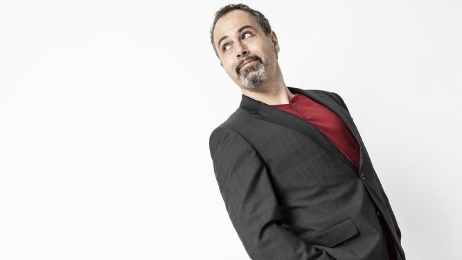 """Michel Gammenthaler mit """"BLöFF Comedy & Schwindel"""" Kulturzentrum Braui Hochdorf Tickets"""