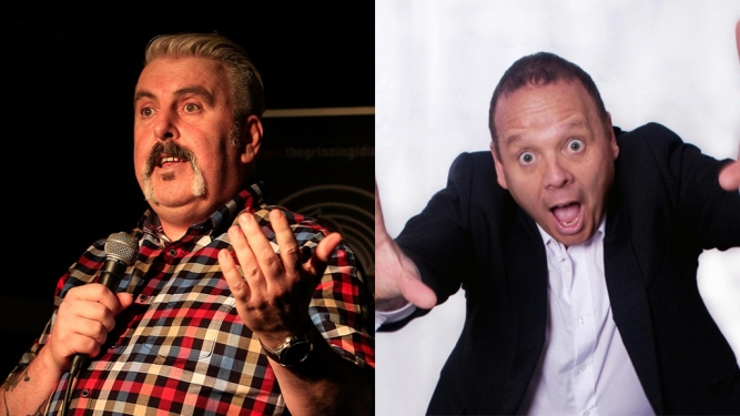 Funny Laundry with Mick Ferry + Steve Harris The Green Room Zürich Tickets