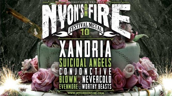 Nyon's on fire festival 10 Usine à Gaz Nyon Biglietti