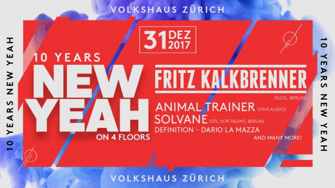 New Yeah Volkshaus Zürich Tickets