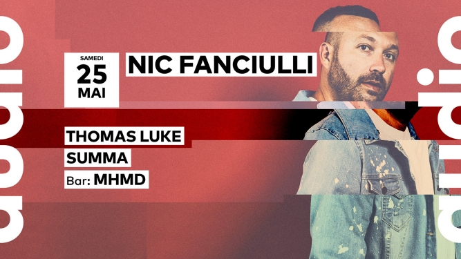 Nic Fanciulli Audio Club Genève Tickets