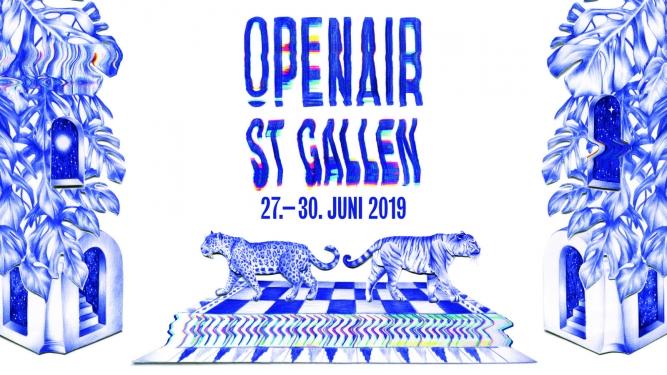 OpenAir St.Gallen 2019 Festivalgelände St. Gallen Tickets