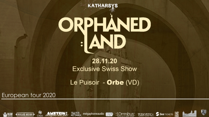 Orphaned Land 30th anniversary tour Le Puisoir Orbe Tickets