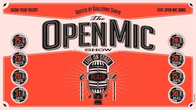 The Open Mic Show Plaza Zürich Billets