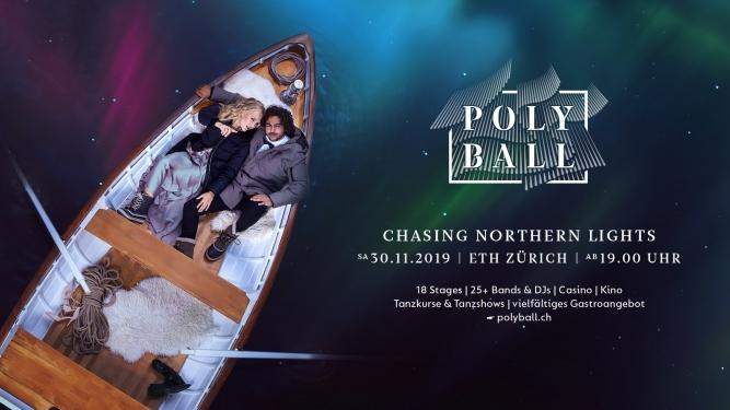 Polyball - Chasing Northern Lights ETH Zentrum Zürich Tickets
