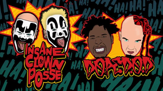Insane Clown Posse Post Tenebras Rock - L'Usine Genève Tickets