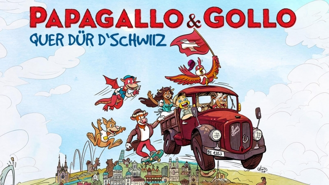 Papagallo & Gollo Diverse Locations Diverse Orte Tickets