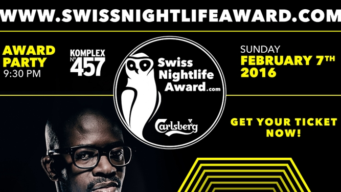 Swiss Nightlife Award Party Komplex 457 Zürich Tickets