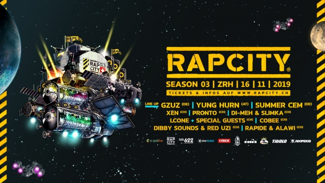 Rap City Season 03 Halle 622 Zürich Tickets