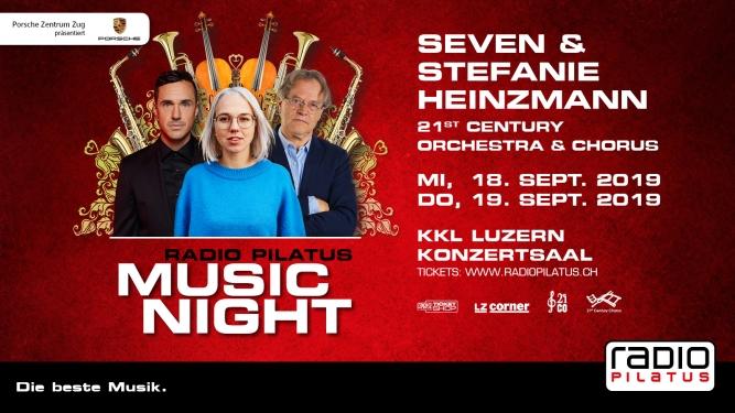 Radio Pilatus Music Night 2019 Konzertsaal Luzern Tickets