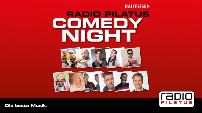 "Radio Pilatus Comedy Night - Charles Nguela mit ""Helvetica's Secret"" Grand Casino Luzern Billets"