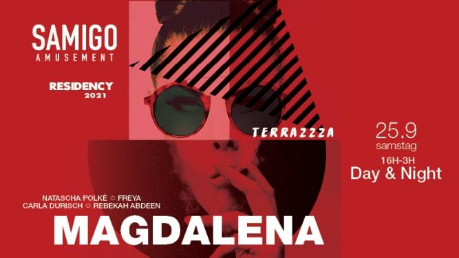 Terrazzza Day & Night with Magdalena Samigo Amusement Zürich Tickets
