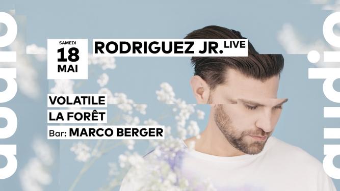 Rodriguez Jr. Audio Club Genève Billets