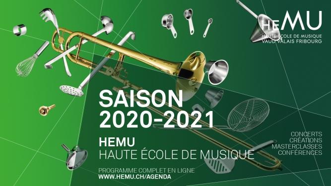 Concerts HEMU - saison 2020-2021 Diverse Locations Diverse Orte Tickets