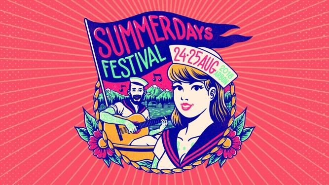 SummerDays Festival 2018 Quaianlagen Arbon Arbon Tickets