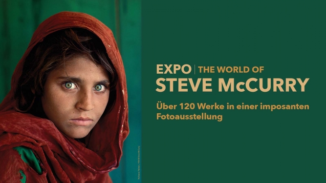 The World of Steve McCurry MAAG Halle Zürich Tickets