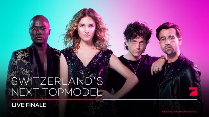"""Switzerland's next Topmodel"" MAAG Halle Zürich Tickets"