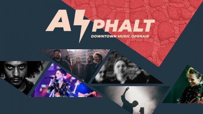 Asphalt / Downtown Music Openair Esplanade Biel/Bienne Biglietti