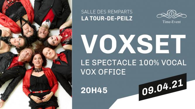 """Voxset """" Vox Office """" Salle des Remparts La Tour de Peilz Billets"""