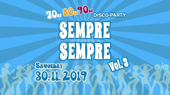 Sempre Sempre Vol.3 Eventhouse Rapperswil Rapperswil-Jona Tickets