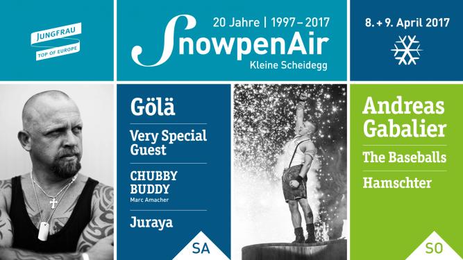 SnowpenAir 2017 Kleine Scheidegg Kleine Scheidegg Tickets