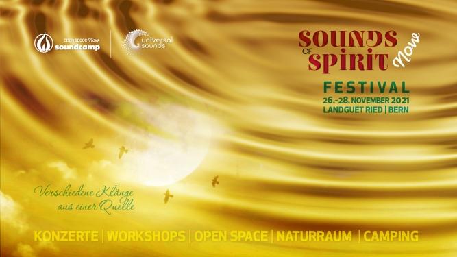 Sounds of Spirit now Festival Landguet Ried Niederwangen bei Bern Billets