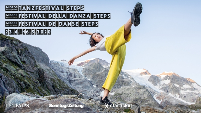 Steps: Migros Culture Percentage Dance Festival Steps Several locations Several cities Tickets