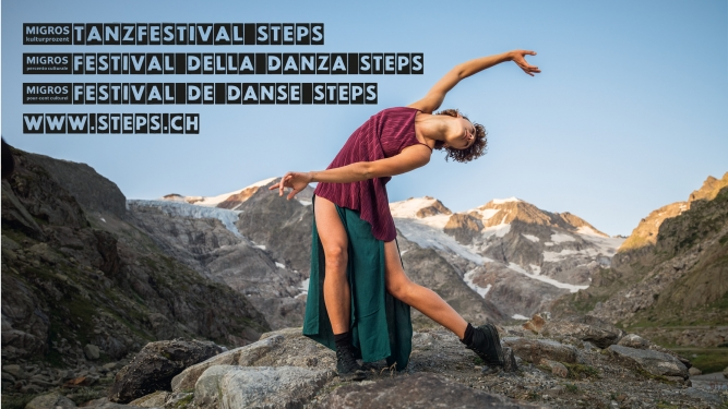 Migros-Kulturprozent Tanzfestival Steps Several locations Several cities Tickets