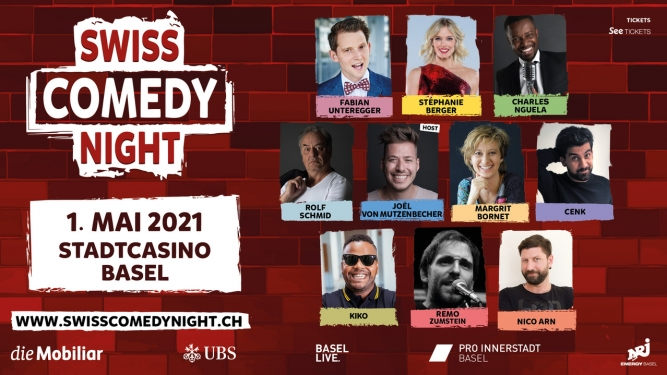 Swiss Comedy Night 2021 Stadtcasino Basel Tickets