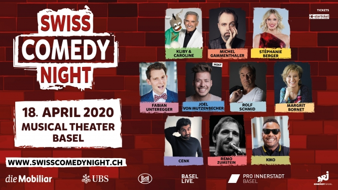Swiss Comedy Night 2020 Musical Theater Basel Tickets