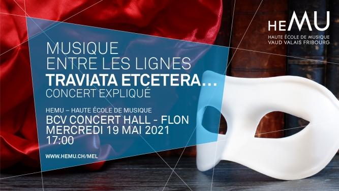 Traviata Etcetera... BCV Concert Hall Lausanne Billets