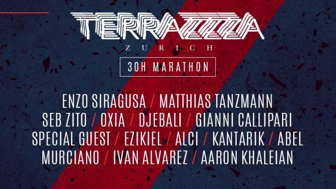 Terrazzza - 30h Marathon Supermarket Zürich Tickets