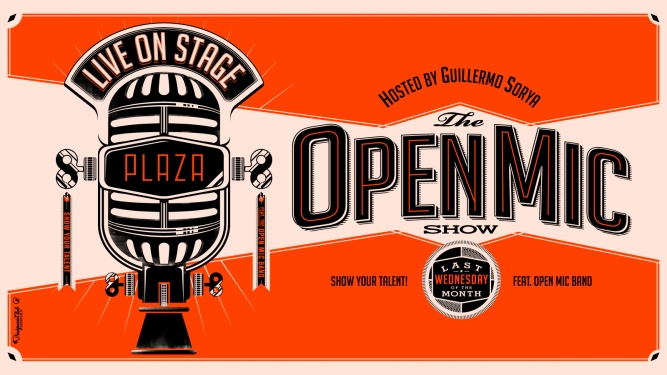 The Open Mic Show - Hosted by Guillermo Sorya Plaza Zürich Tickets