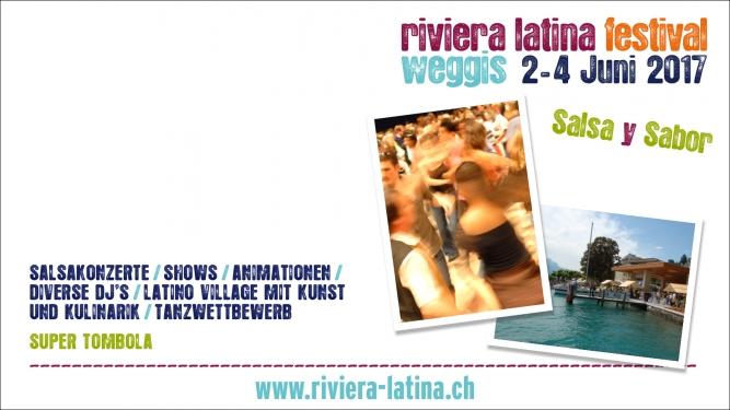 Riviera Latina Festival 2017 Pavillon Schiffstation Weggis Tickets