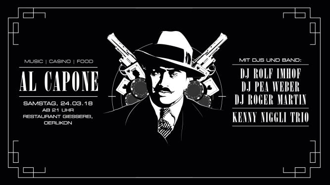 Al Capone Party Giesserei Oerlikon Zürich Tickets