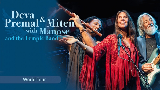 Deva Premal & Miten with Manose Samsung Hall Zürich Dübendorf Tickets