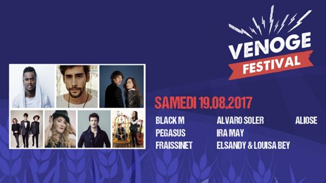 Billet Samedi - VIP Venoge Festival Penthalaz Billets
