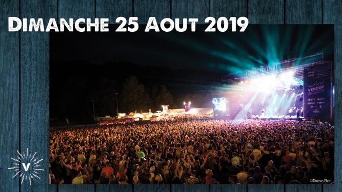 Dimanche 25.08.2019 Venoge Festival Penthalaz Billets