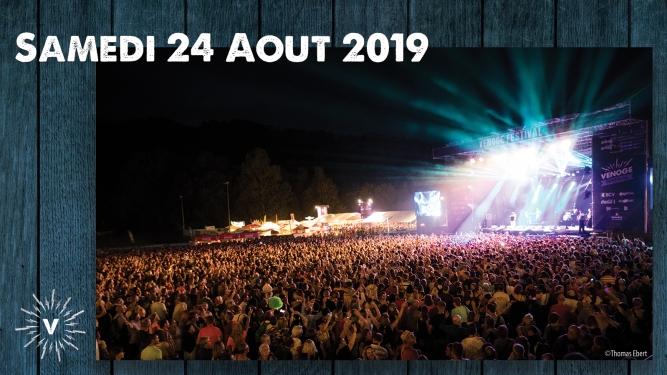 Samedi 24.08.2019 - VIP Venoge Festival Penthalaz Billets