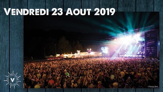 Vendredi 23.08.2019 - VIP Venoge Festival Penthalaz Billets