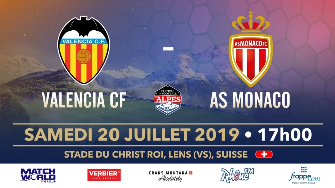 AS Monaco vs Valencia CF Stade du Christ-Roi Lens Tickets