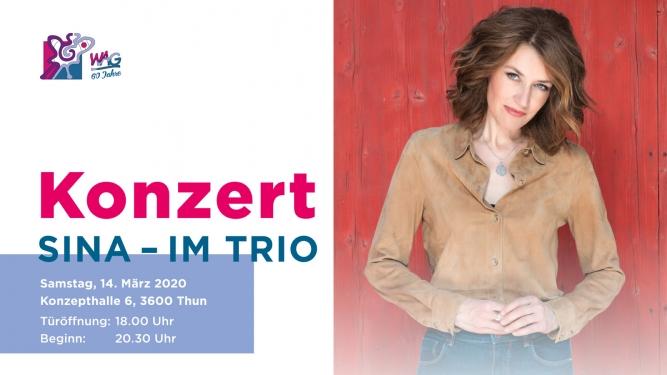 Sina - im Trio Konzepthalle 6 Thun Tickets