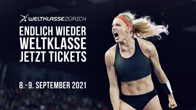 Weltklasse Zürich 2021 Stadion Letzigrund Zürich Tickets