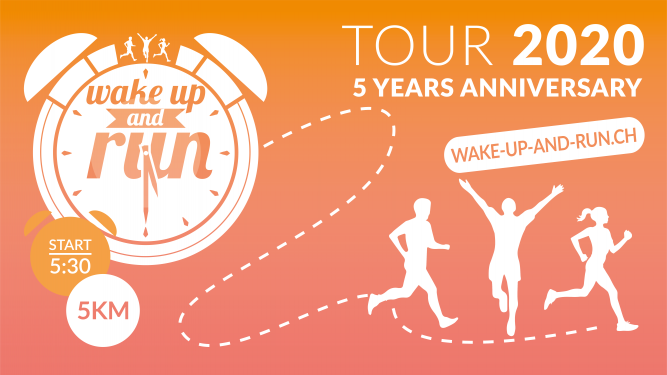 Wake up and Run 2020 - Delémont Cour du château Delémont Tickets