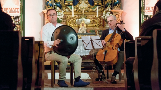 Bruno Bieri & Lionius Treikauskas Kapelle Winkelmatten Zermatt Tickets