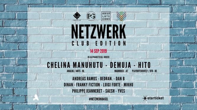 Netzwerk Club Edition Secret Location Secret Location Tickets