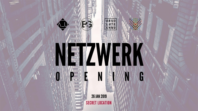 Netzwerk Opening Secret Location Secret Location Tickets