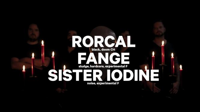 Rorcal (CH) + Fange (F) + Sister Iodine (F) Amalgame Yverdon-les-Bains Billets