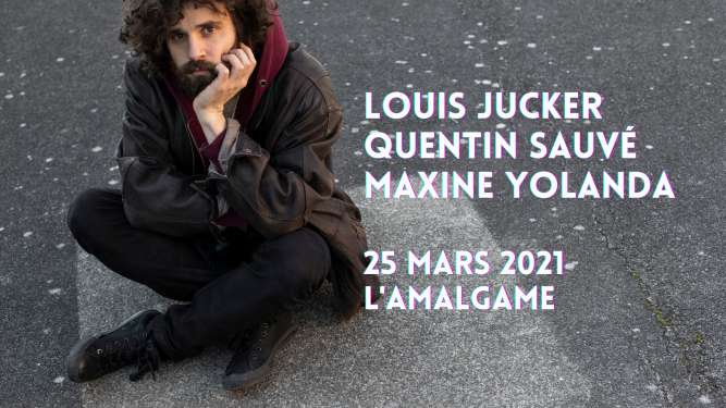 Louis Jucker (CH) + Quentin Sauvé (F) + Maxine Yolanda (CH) Amalgame Yverdon-les-Bains Billets