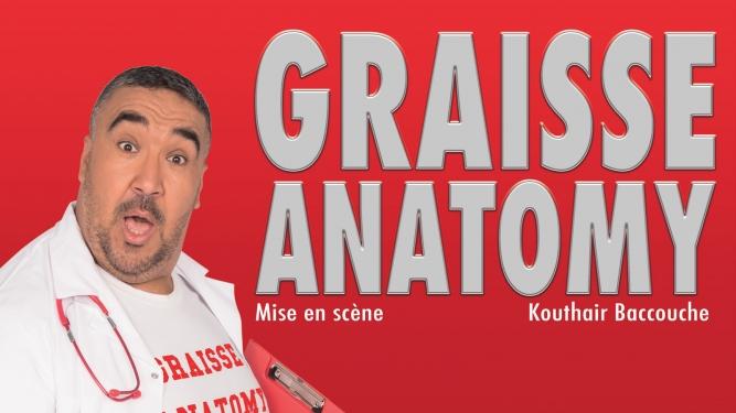 Wahid - Graisse Anatomy Théâtre du Caveau Genève Biglietti